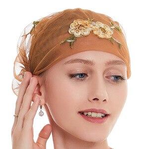 Hijab scarf  hair wraps for women turban headband Hijabs Cap Muslim Hijab Hats Turbantes Caps  muslim scarf  TJ05