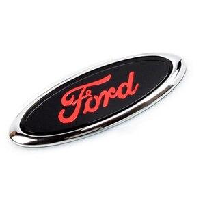 Наклейка на заднюю багажник автомобиля с эмблемой для Ford Logo Focus 3 Fiesta Mk6 Transit Ranger Kuga Mondeo Explorer Ecosport аксессуары для Galaxy