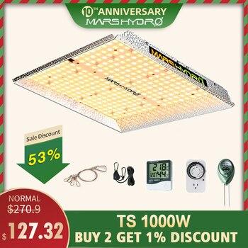 الخطمي led تنمو ضوء الطيف الكامل TS 1000 واط داخلي نظام استزراع مائي led تنمو ضوء تنمو خيمة و تنمو أضواء لوحة