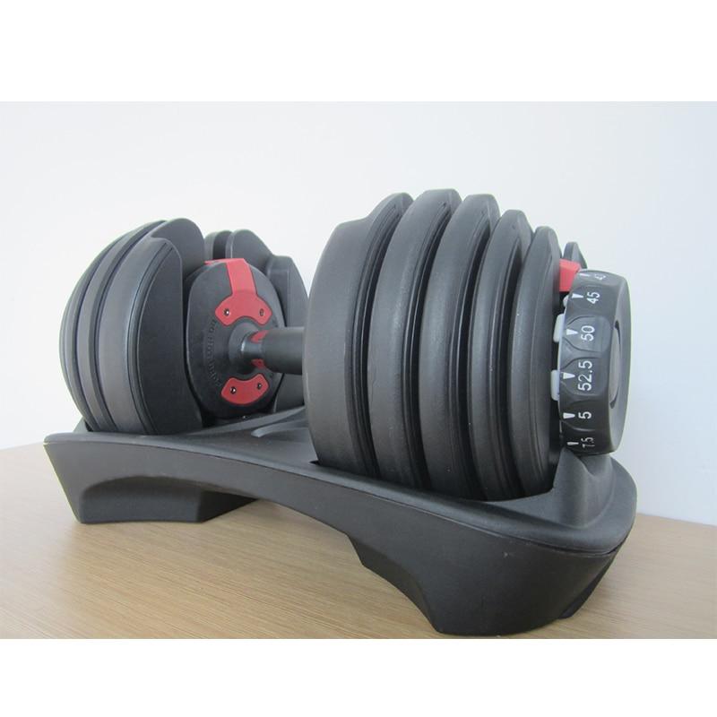 High-end Dumbbell Weight-adjustable Dumbbell Five Adjustment Pads ZJ3330 Professional Fitness Dumbbell
