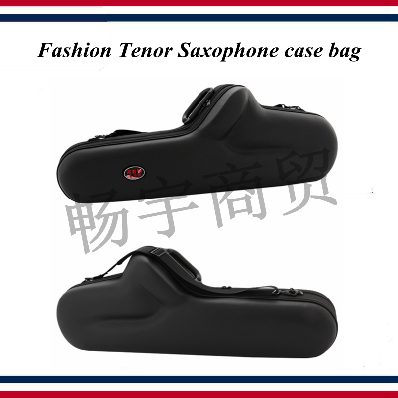 Fashion Tenor Saxophone Case Bag Waterproof Shockproof Single Backpack Portable Box Wind Instrument Case Parts