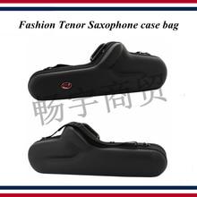 Fashion Tenor Saxophone case bag Waterproof shockproof single backpack portable box Wind instrument case parts