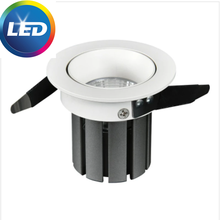 2021 Mini LED Recessed Downlight 7W 12W Dimmable 110V 220V Spotlight 24° Ceiling Lamp For Shopping Mall and Hotel Lighting