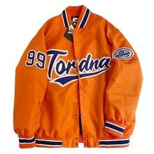 2021 nova chegada quente jaqueta bomber marca roupas femininas único breasted emendado outono beisebol puro fresco listra casaco casual