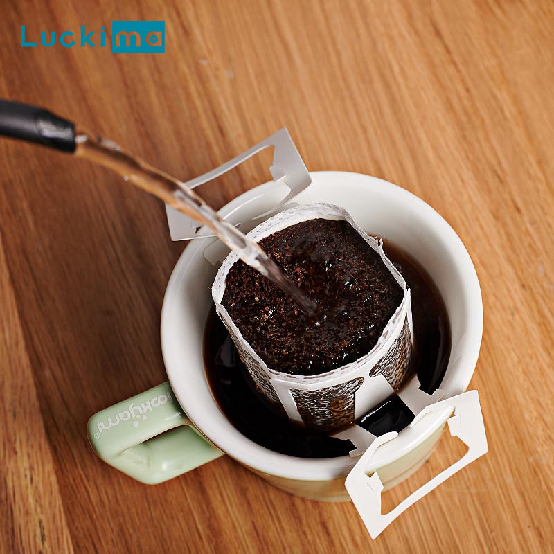 Travelling Drip Coffee Maker Filter Bag For Home Office Working Portable Espresso Cafe Americano Maker Hanging Style Tea Tools