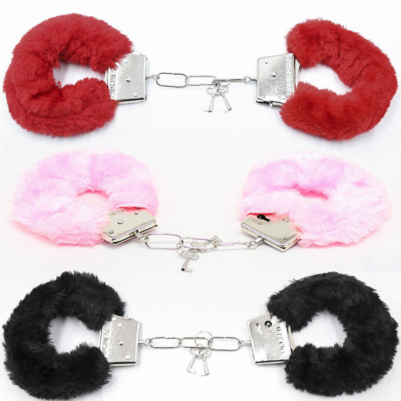 BDSM Bondage Handcuffs For Sex Bondage Restraints Ankle Cuffs Fetish Adult Sex Toys For Woman Couples Slave Games Sex Products