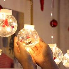 Рождественская гирлянда светильник s светодиодный Спальня вечерние