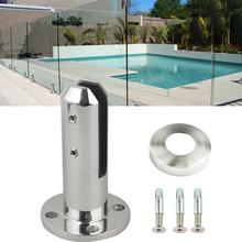 Spigots Stairs Swimming Pool Spigot Glass Balustrade Railing Balcony Stainless Steel Home Garden Bathroom Fence Clip