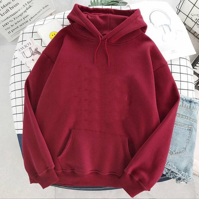 Plus Size sweatshirt Women Summer 2021 Spring Oversized Cute Print hoodie Cute Hip hop Kawaii Harajuku womens tops clothes 14