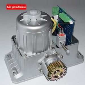 Image 3 - Ouvre porte coulissant électrique lourd de système de vitesse résidentiel/moteur de porte coulissante avec le kit de télécommande de supports en acier de 4m