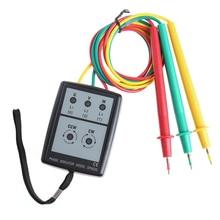 цена на OOTDTY Smart Digital Phase Rotation With LED Indicator Tester Meters SP8030 New High Quality 63HF