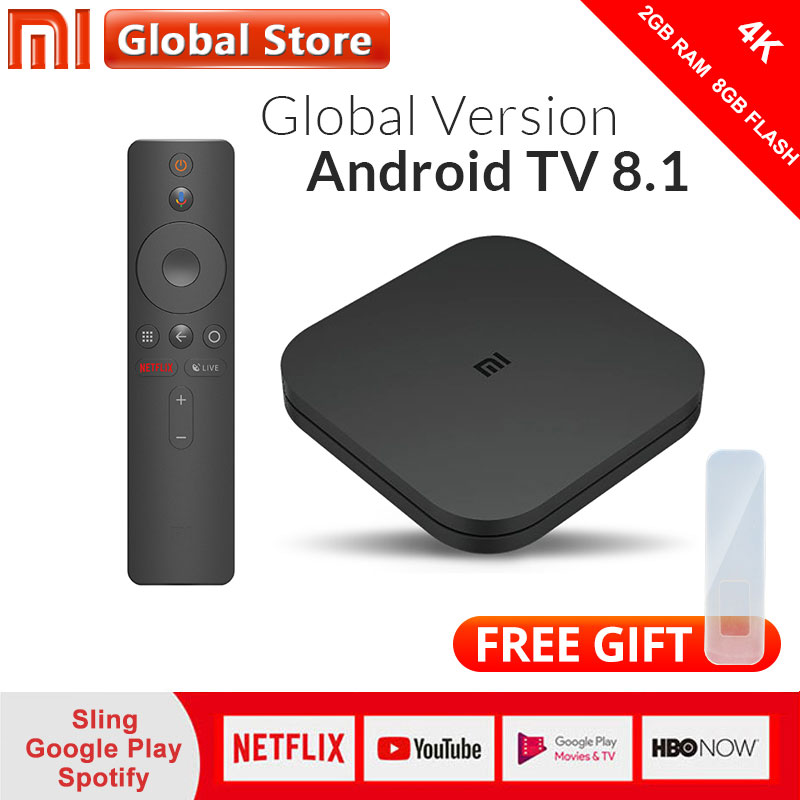 Ursprüngliche Globale Version Xiao mi mi Box S 2GB 8GB Android 8.1 Smart 4K Ultra HD WIFI Google cast Netflix IPTV Set top Box-in Digitalempfänger aus Verbraucherelektronik bei AliExpress - 11.11_Doppel-11Tag der Singles 1