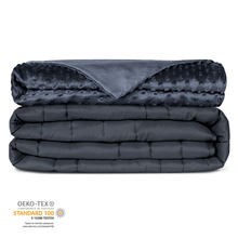 Newentor Weight Blanket 6.8/7.7/9.1 kg Gravity Blacket With Removable Bamboo Covers Heavry Glanket For Anxiety and Better Sleep