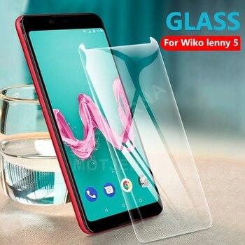 Перейти на Алиэкспресс и купить Пленка из закаленного стекла для Wiko Lenny 5 4 3 2 View 3 Lite Pro Y80 Y60 Robby 2, Защитная пленка для экрана Wiko Y80 Y60