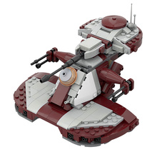MOC AAT 75283 Modification Star Space of Wars Series Armored Assault Tank High-Techbricks Model Building Block Kid DIY Toy Gift
