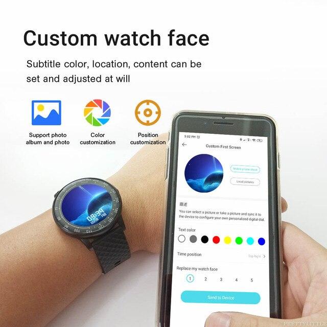Ph30 Smart Watch Custom Dial Round 1.3 Inch IP68 Waterproof 4