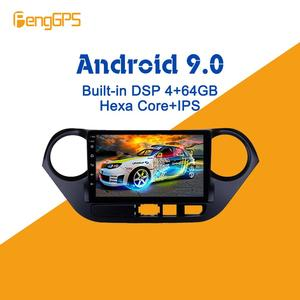 Android 9.0 PX6 DSP For Hyundai Grand I10 2013 - 2019 Car Multimedia Stereo Player No DVD Radio GPS Navigation Head unit screen