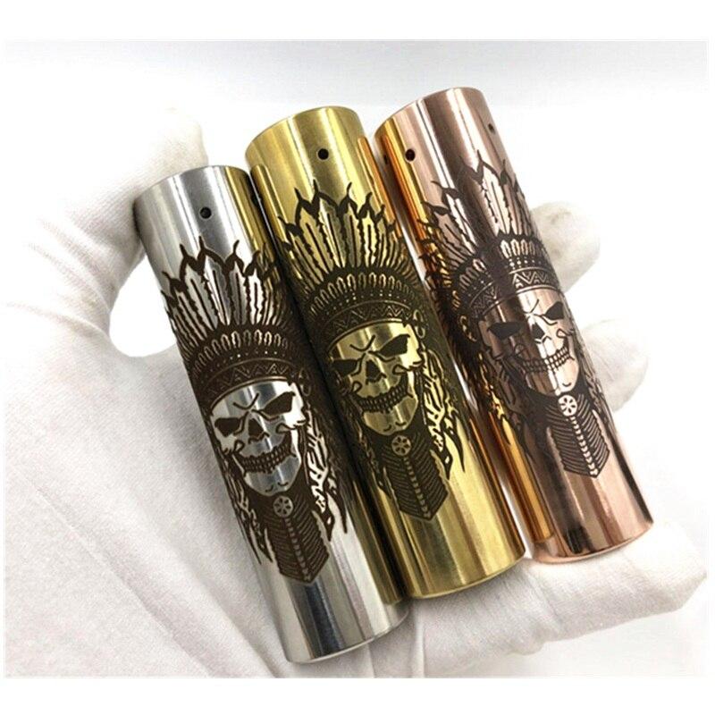 Rogue Mech Mod E Cigarette Mechanical Mod Best Vape Mod short Rogue Mod Carved 18650 battery 25 Diameter vape pen 3.0 Skull RDA