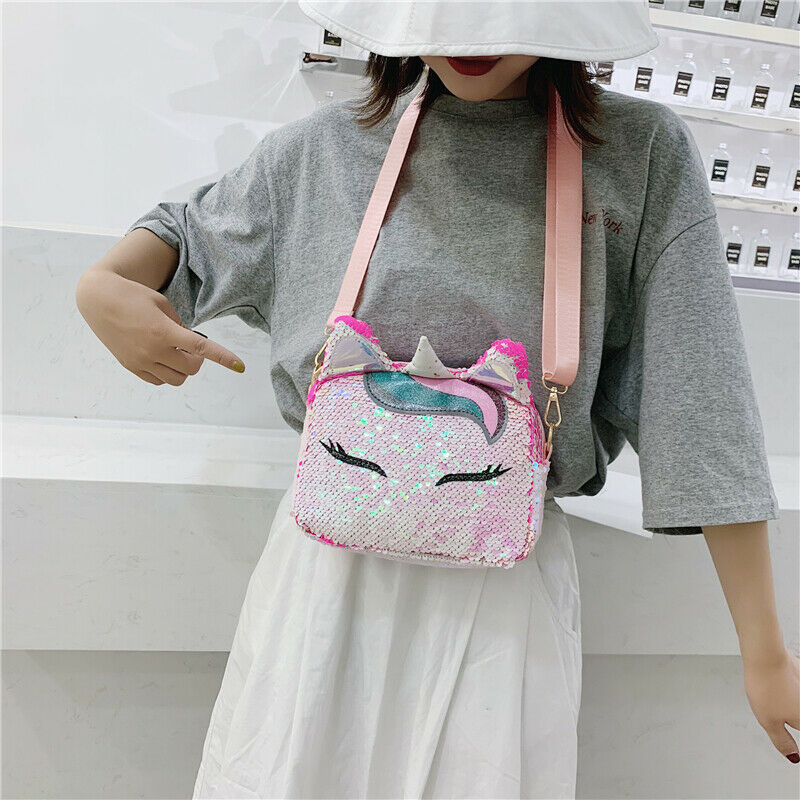 New Fashion Women Fashion Unicorn Messenger Crossbody Lady Shoulder Bag Satchel Handbag Tote