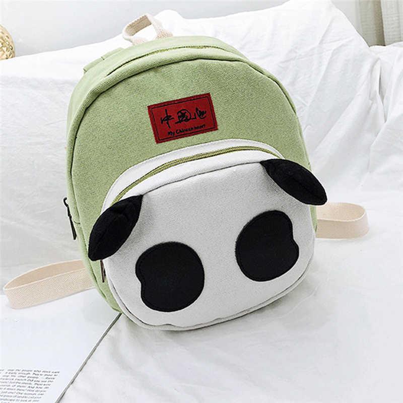 2019 panda dos desenhos animados anti perdido crianças do jardim de infância mochila nova comida turismo moda sacos de bebê