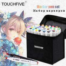 Touchfive маркер 30/40/60/80 Цвет рисунок эскиз художественный