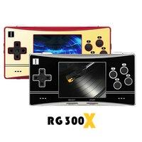 ANBERNIC-consola de juegos portátil Retro RG300X, Minireproductor de Video Juego HD, 5000 juegos integrados, regalo para niños