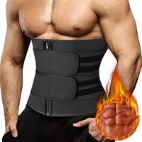 Männer Taille Trainer Korsetts Fitness Trimmer Gürtel Abnehmen Body Shaper für Gewicht Verlust Sauna Schweiß Gürtel Workout Fett Brenner Fajas