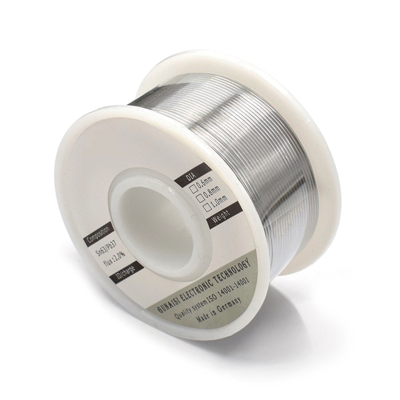 0.6/0.8/1mm 50/100g Solder Wire Roll Tin Lead Melt Rosin Core Soldering Durable High Brightness Non-toxic --M25