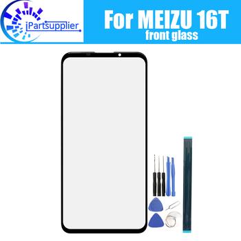 Dla Meizu 16T szklany ekran obiektywu 100 nowy przedni ekran dotykowy szklany obiektyw zewnętrzny dla Meizu 16T + narzędzia tanie i dobre opinie iParto For Meizu 16T Front Glass Lens pieces 0 200kg (0 44lb ) 19cm x 12cm x 7cm(7 48in x 4 72in x 2 75in)