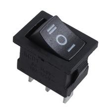 SPDT ON-OFF-ON 3 Position Snap In Boat Rocker Switch AC 250V/6A 125V/10A