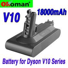 25,2 в литий-ионный пылесос Перезаряжаемые Батарея для V10 абсолютная V10 пушистый Циклон V10 Motorhead SV12 литий Батарея
