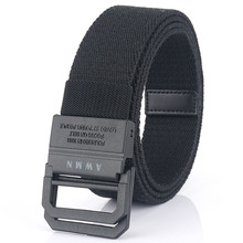 2021New Casual Men Canvas Belt Adjustable Army Belt For Trousers Outdoor Nylon Tactical Belts Metal Buckle Military Waist Belt