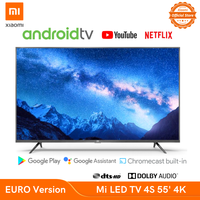 Xiaomi Mi LED TV 4S 55 EURO Version 2Y Spain Warranty 3840x2160 HDR Resolution DTS/Dolby Audio Android 9 1.5/8GB 5G Wifi