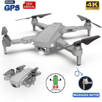 Gps Drone LU1 PRO with HD 4K Camera Professional 3000m Image Transmission Brushless Foldable Quadcopter RC Dron Kids Gift