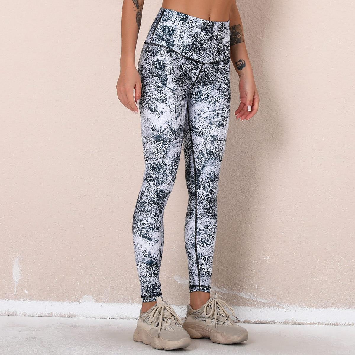 Бесшовные спортивные штаны для тренировок и йоги, женские леггинсы, штаны для фитнеса, брюки для тренажерного зала, бега, йоги, женские спорт...