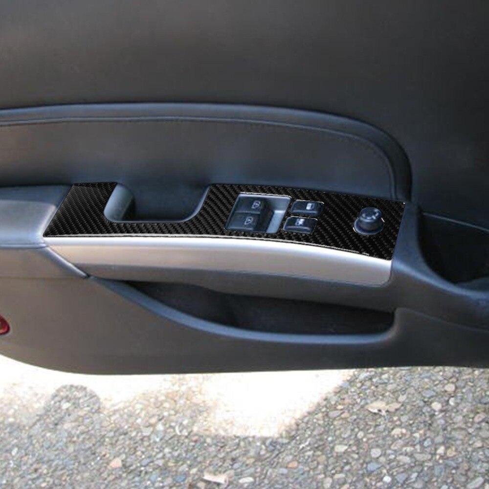PQZATX Autocollant de Cadre Cl/é de Volant de Carbone de Voiture de 3 Pi/èCes S/éRies Pi/èCes de Modification Int/éRieure de Voiture pour Mustang 2009-2013