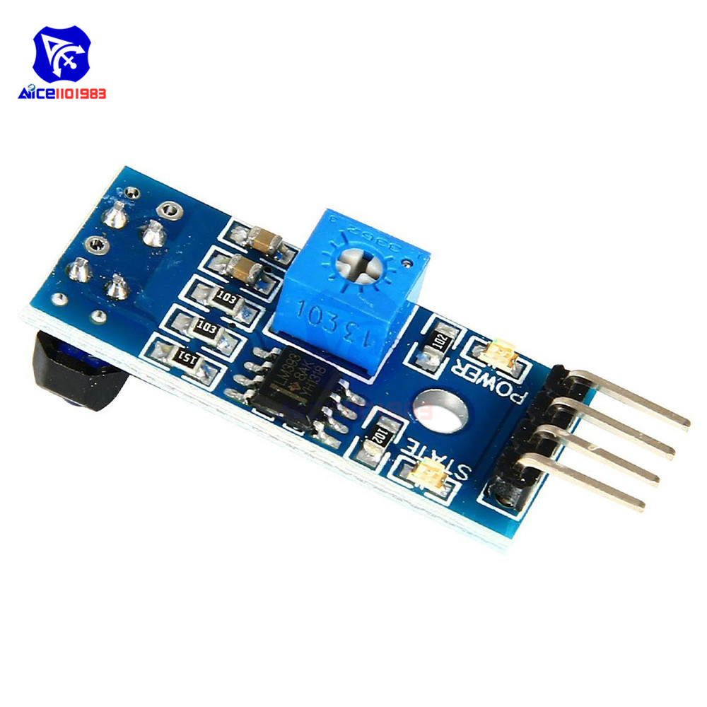 5PCS Obstacle Avoidance TCRT5000 Infrared Track Sensor Module For Smart Car