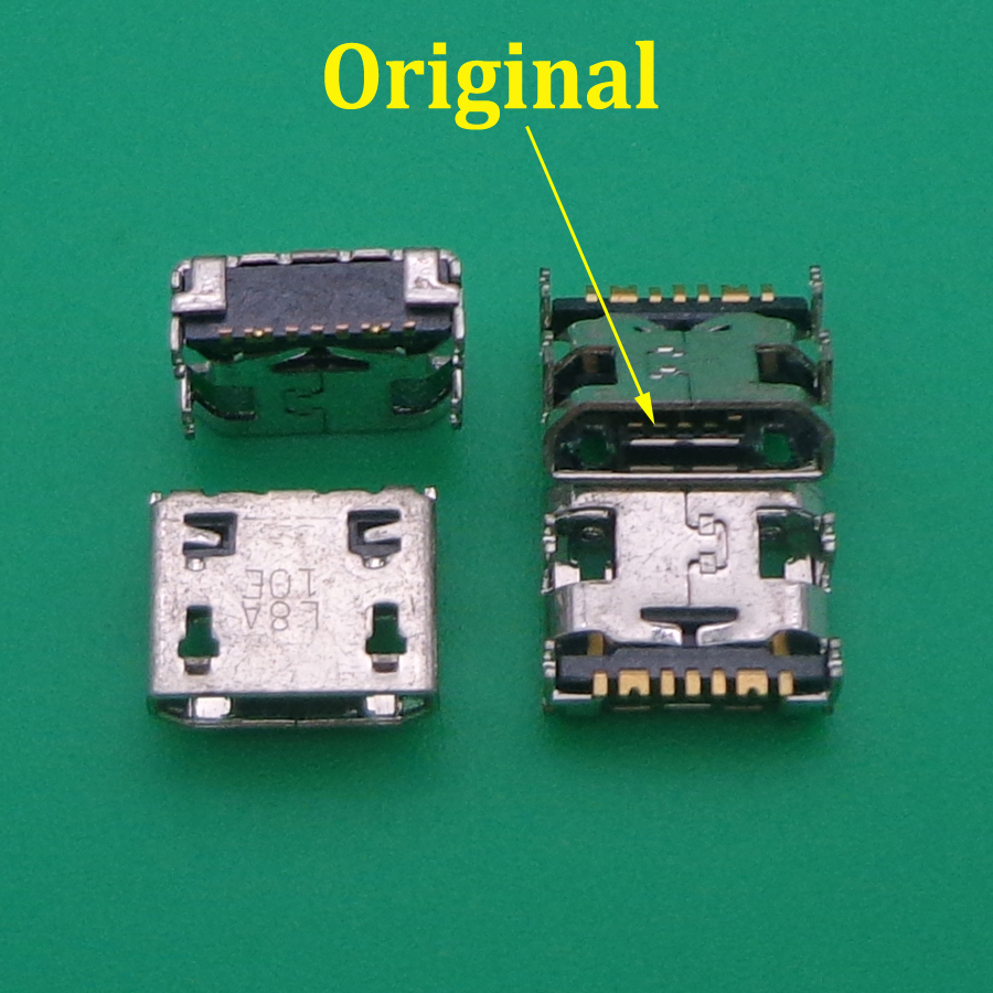 10pcs Micro Mini Usb Charging Port Jack Socket Connector Plug For Samsung Galaxy G355 G313 A8 A8000 A8009 J1 J120 J210F C3590