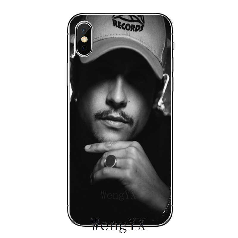 Nekfeu – coque de téléphone rappeur, accessoires pour iPhone 12 11 Pro Max XS Max XR X 8 7 Plus 6 6S Plus 5 5s SE 2020