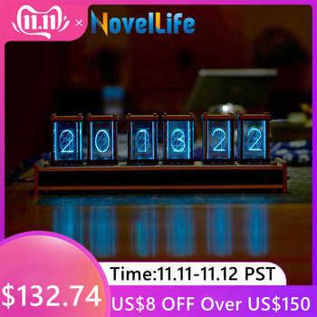 Elekstube 6 Bit RGB LED Glow Digital Clock Nixie Tube Clock Kit DIY Electronic Retro Desk Clock Stopwatch 5V Micro USB Powered - DISCOUNT ITEM  45% OFF Tools
