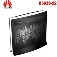 Huawei LTE CPE B593s 22 Unlocked 4G Wireless Router+ 2pcs 4g B593 antenna