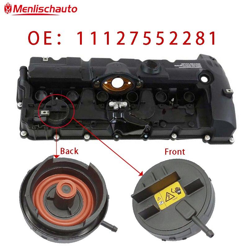 11127552281 PCV 커버 N51 N52 엔진 밸브 커버 자동차 E82 E90 E70 Z4 X3 X5 328i 528i 11 12 7 552 281