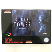 Clock Tower with box for pal console 16bit  game cartidge 1