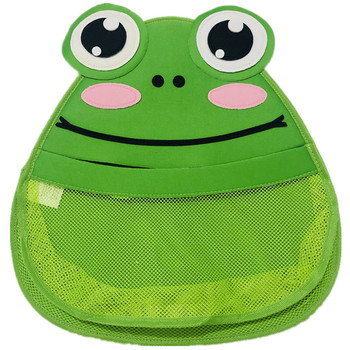 With vacuum suction cup Kids Bath Toy Organizer Animal Modelling Childrens Storage/Cartoon storage bin/Baby Storage Bags