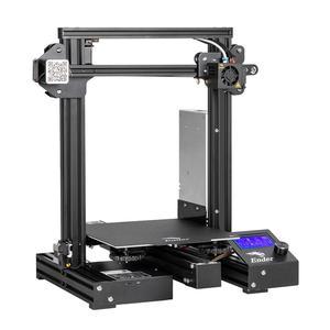 Image 3 - Набор 3d  наклеек CREALITY, обновленная версия Ender 3 профессиональный принтер комплект с магнитной крышкой, продолжение печати после перебоев с питанием, брендовый источник питания