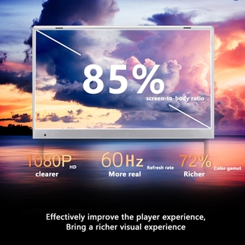 KUU G2 Gaming Laptop AMD Ryzen5 3550H 16GB Dual channel DDR4 RAM 256/512GB PCIE SSD 15.6-inch IPS Screen Office/Gaming Notebook 4