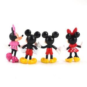 Image 3 - Figurines animaux souris 8cm, jouets Mini souris club house poupées classiques pour enfants, cadeaux