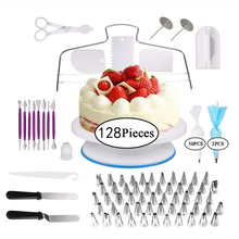 Cake-Decorating-Tools Pastry-Nozzles-Converter Turntable Confectionery-Bag Cakes