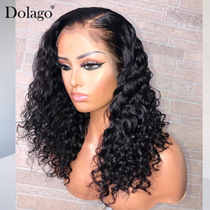 Image 5 - Loose Wave 360 Lace Frontal Wig 250 Density 13x6 Lace Front Human Hair Wigs With Baby Hair Wavy U Part Wig Dolago Remy