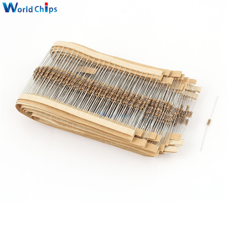Diymore 100 PCS/Lot 100 <font><b>Ohm</b></font> 0,25 W 1/4W 5% Carbon Film Widerstände Widerstand image